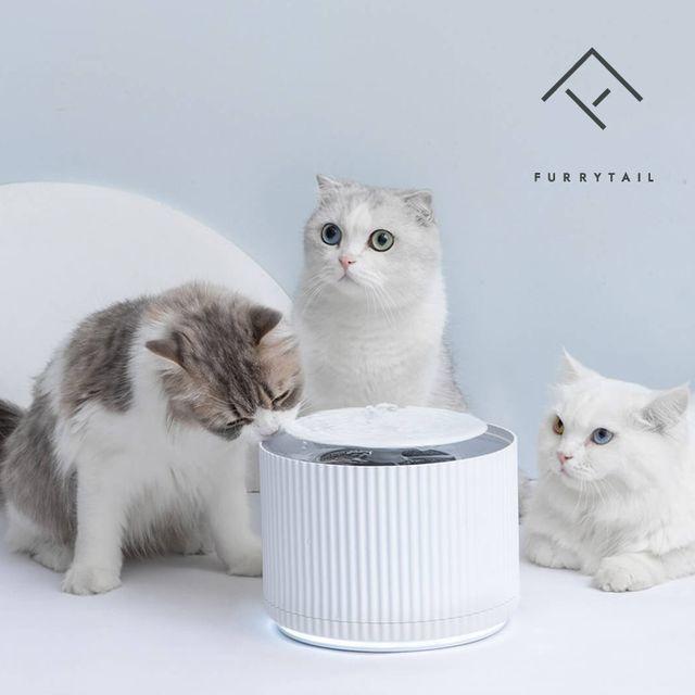 1300K (퓨리테일 코리아) 퓨리테일 고양이 강아지 반려동물 스마트 클리어 정수기