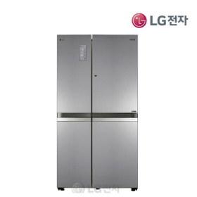 디오스 매직스페이스 양문형냉장고 S835S30 (830L/퓨어(무광)/이지핸들)