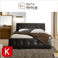 아망뜨(Amante) PU가죽 평상형 본넬매트리스 침대(K) (2종중택1)