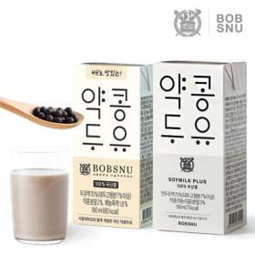 [서울대학교공동개발]밥스누 소이밀크 플러스 약콩두유 3종 택1