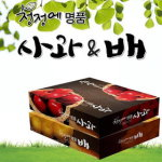 [2014 햇]청정에 배5kg + 사과4kg 세트