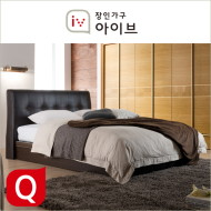 아망뜨(Amante) PU가죽 평상형 독립매트리스 침대(Q) (2종중택1)