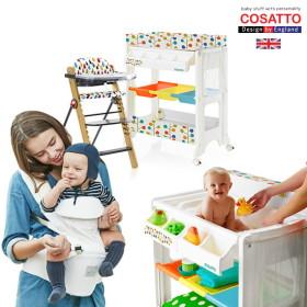 엄마와 아기가 모두 즐거운 육아필수템! 기저귀교환대/아기욕조/유아식탁의자 영국 프리미엄 가구