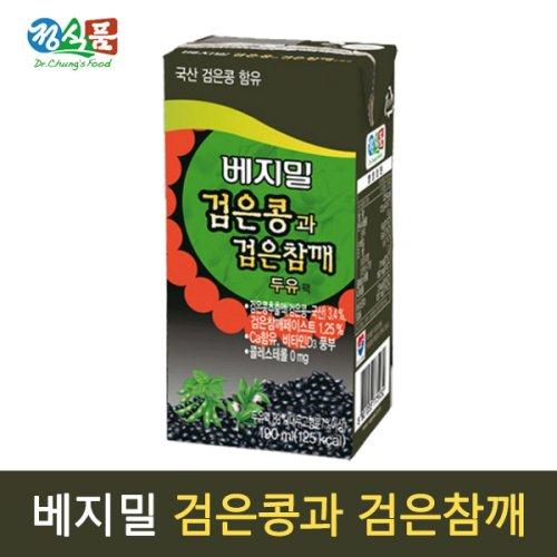 [베지밀]  베지밀 검은콩과 검은참깨 190mlx72팩