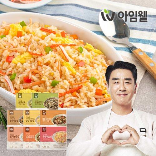 [아임웰]  굿밸런스 라이트밀 영양 곤약밥 6종 골라담기