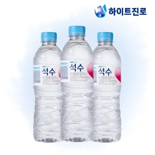 [석수&퓨리스]하이트진로 석수 500ml x 40병 생수/무료배송/물