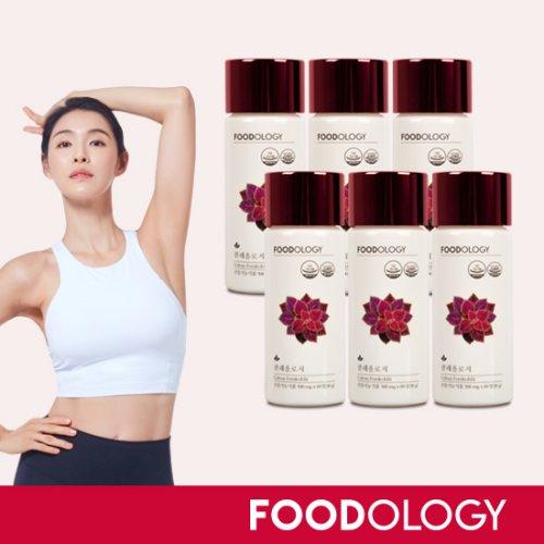 [푸드올로지]  ■[가희 빨간통다이어트][6병]콜레올로지 다이어트 (500mg*60정*6병)